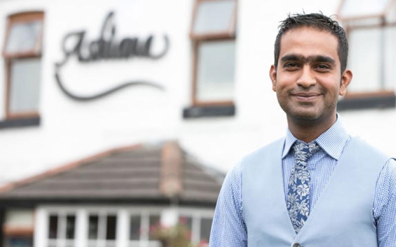 2020 Travellers Choice award given to Ashiana Indian Restaurant at North Muskham near Newark